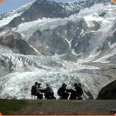 At the Glacier